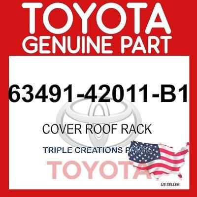 FACTORY TOYOTA RAV4 2001-2003 FRONT PASSENGER ROOF RACK COVER 6349142011B1 OEM