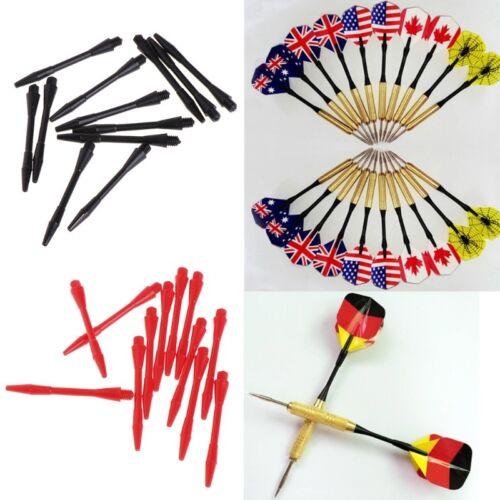 12Pcs plastic Nylon Screw Dart Shafts pole Short Stems rod Darts Replacement 5cm
