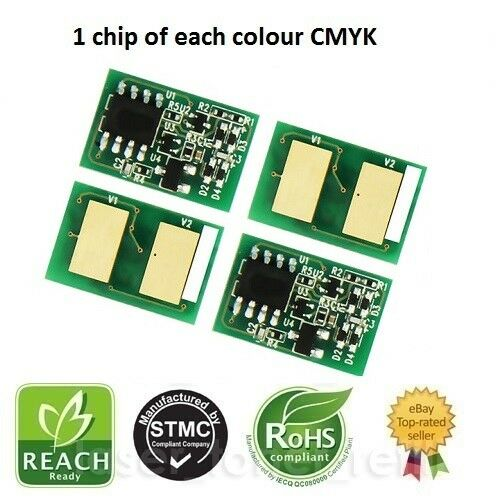 4 IMAGING DRUM DRUM RESET CHIPS FOR USE IN OKI ES9431 ES9541
