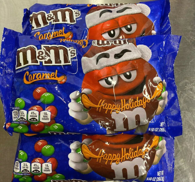 Christmas M&Ms 2020 Caramel M&m's X3 USA Candy Imported American M&ms for sale online