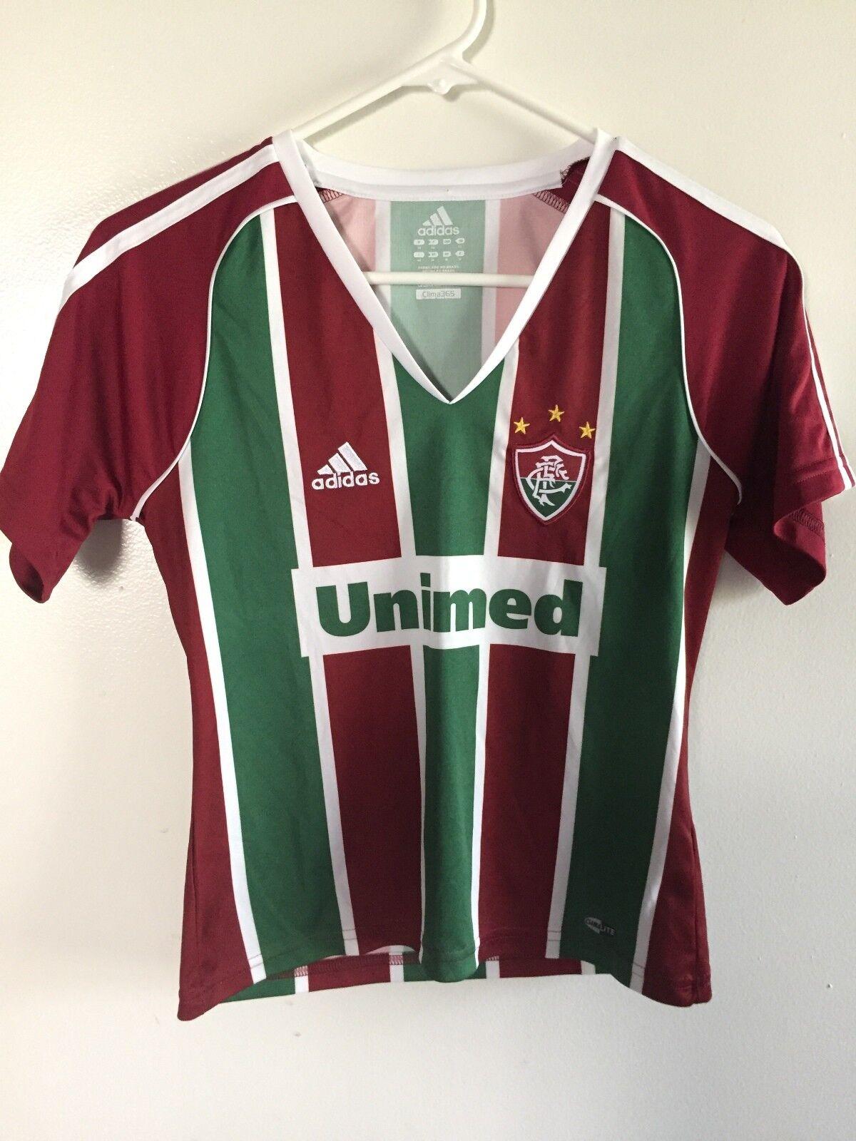 Maillot de football Fluminense - XS Femmes - Adidas Clima 365 - Football au Brésil