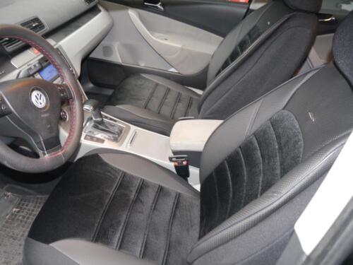 Coprisedili AUTO RIVESTIMENTI Set per Ford Focus no214425 Nero