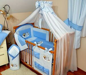 Image is loading STUNNING-BABY-COT-COT-BED-COTBED-BIG-CANOPY- & STUNNING /BABY/COT/COT BED/COTBED BIG CANOPY DRAPE/MOSQUITO NET+ ...