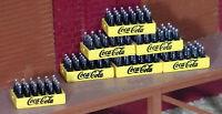 6 Coca Cola Case (24 Bottles In A Case) Coke 1:48 O Scale