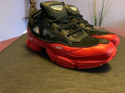 timeless design ad6ee aab5d SS'17 Adidas x Raf Simons Ozweego 3 Sneakers in Red/Black, US9,5 | eBay