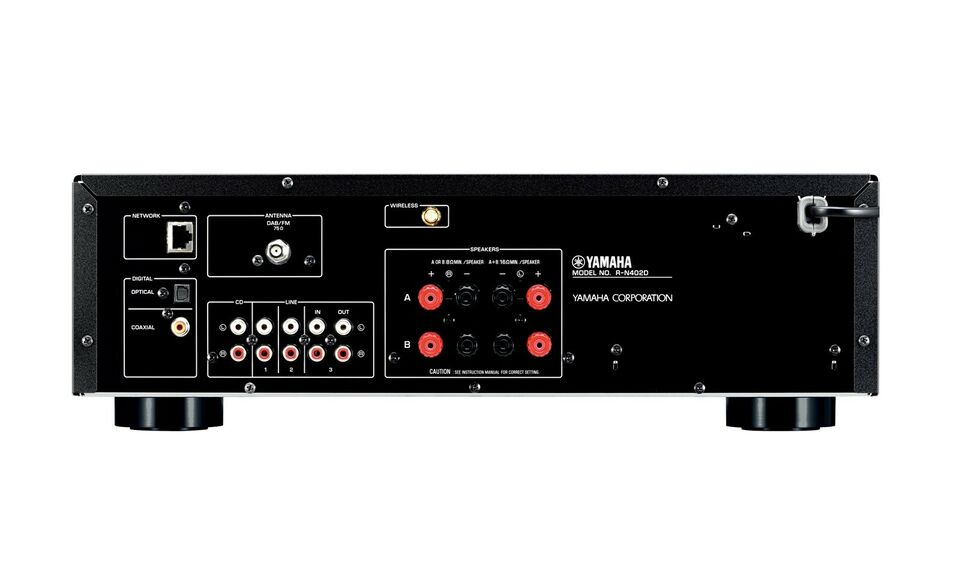 Receiver, Yamaha, R-N402D