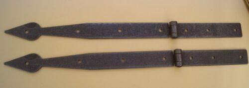 Oberfläche Rost-Antik 2 Stück Truhenband Eisen