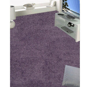 Teppichboden-4m-Breite-Hochflor-Teppich-lila-Velours-Wuschel-Auslegware-Pr-x-m