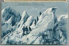 GUGLIE DEL GHIACCIAIO DEL FORNO cartolina animata non viaggiata Val Bregaglia