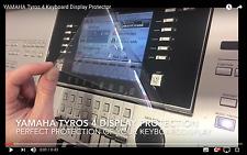 YAMAHA Tyros 4 Keyboard Displayschutzfolie adhäsiv (ablösbar ohne Rückstände)