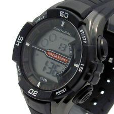 Cannibal Men's Digital Watch 1/100th sec Chrono Light Water Resist CD239-03