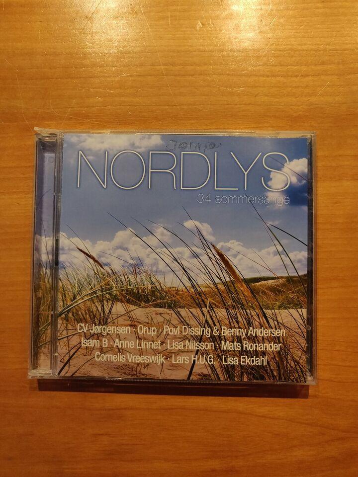 Blandede: Nordlys - 34 Sommersange, rock