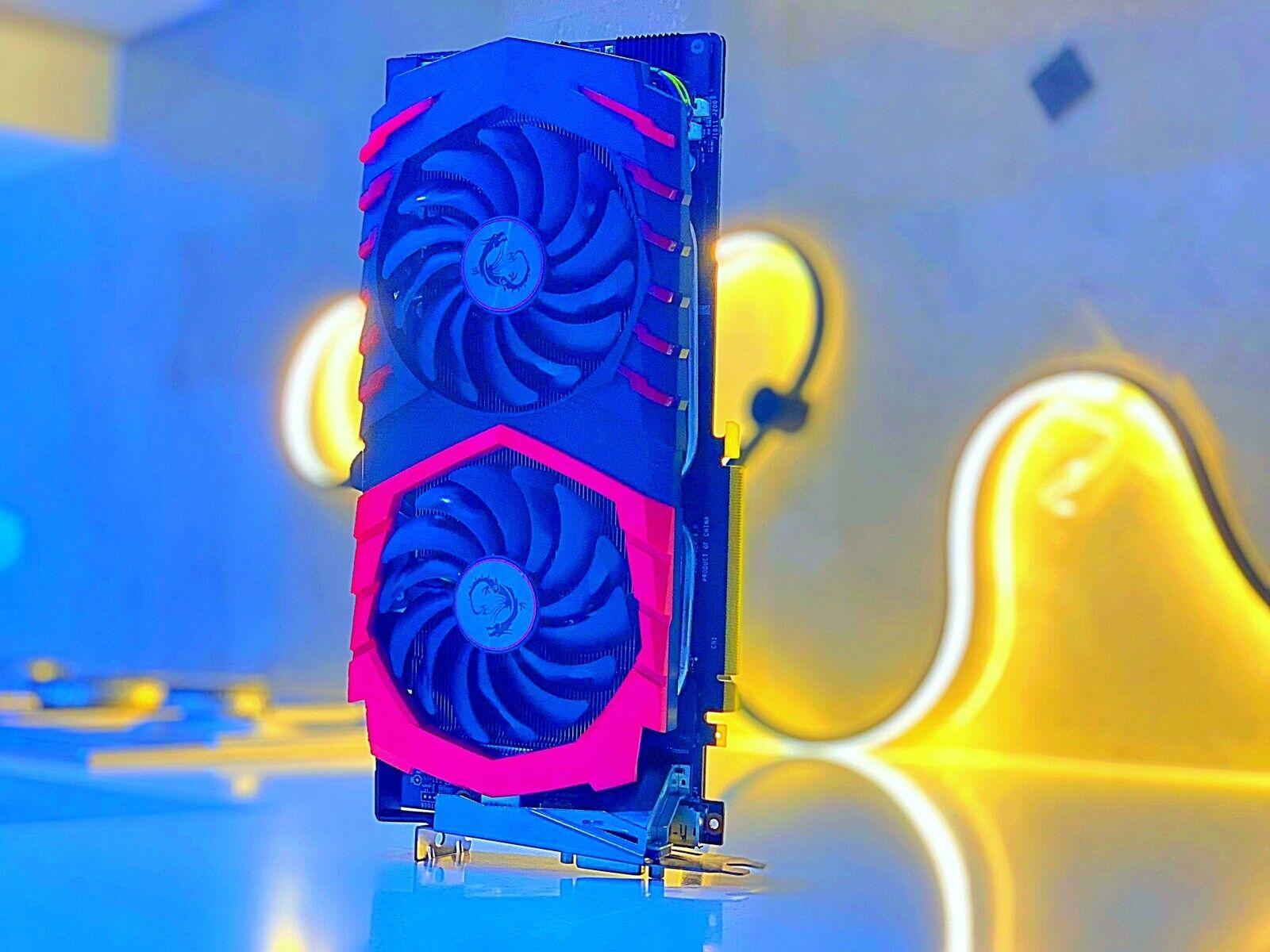 ༺ༀ༂ MSI GeForce GTX 1070 GAMING 8GB ® Gaming X ®Graphics Card DVI-Port-HDMI༂ༀ༻