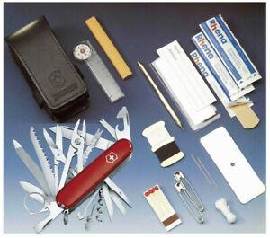 Victorinox - Kit Survie Swisschamp Rouge Sos Set 47 Fonctions Etui - 1.8810