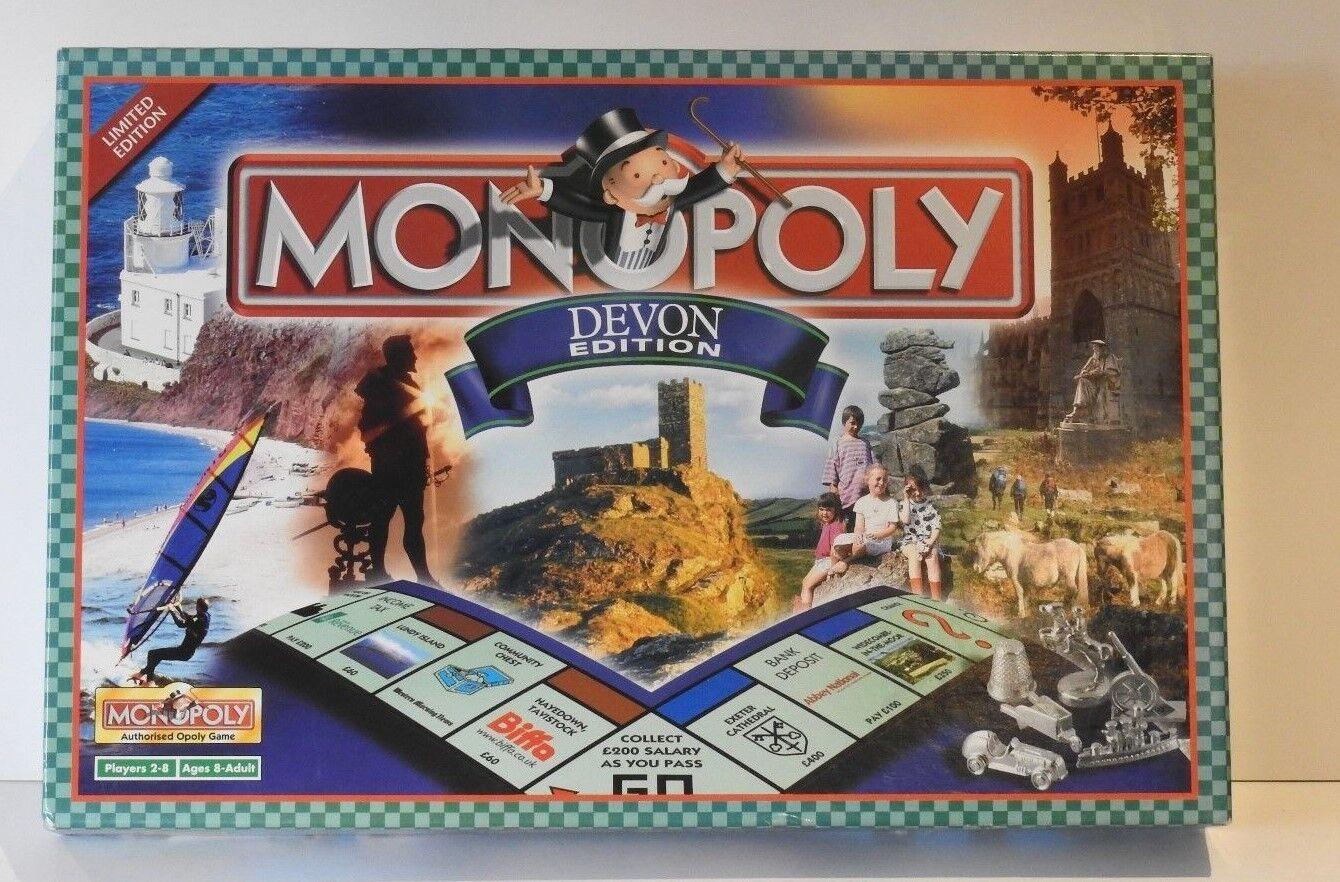 Monopol - devon ausgabe brettspiel - fabrik versiegelt