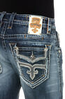 *NWT - ROCK REVIVAL 'MATTY J4' MENS STRAIGHT JEANS - 29,30,31,32,34,36,38 & 40