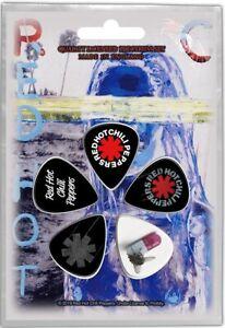 Rouge-Chaud-Chili-Peppers-Ensemble-De-5-Guitare-Mediators-Mediators