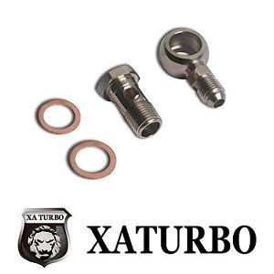Banjo Bolt Kit M18x1.5 mm to 6AN Garrett T04B T04E RB25