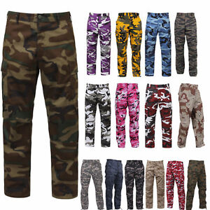 b78aec1408693 Image is loading BDU-Pants-Military-Camouflage-Paratrooper-Tactical-Fatigue- Camo-