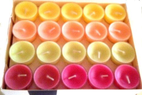 über 170 Düfte verfügbar 7 Pakete Partylite Teelichter nach Wahl Neu /& OVP!