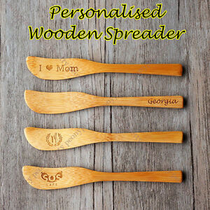 Personalised-wooden-Jam-Butter-Knife-Cheese-Spreader-Wood-Spatula-Scraper