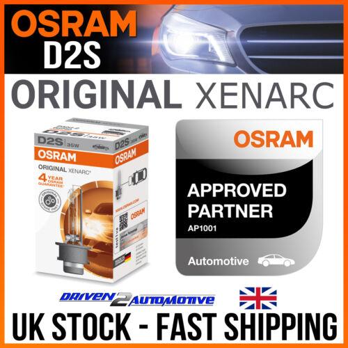 1x OSRAM D2S ORIGINAL OEM XENARC HID XENON BULB 66240 12V 35W