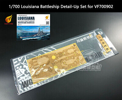For VF700901,VF700902) 1//700 Very Fire Wood Deck USS Montana