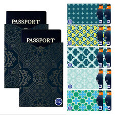 I3C RFID Blocking 10 Credit Card&2 Passport Holder Protector Sleeves Green iys1