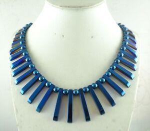 41pcs-Beautiful-Titanium-Hematite-pendant-Gemstone-beads-Handmade-necklace-c3