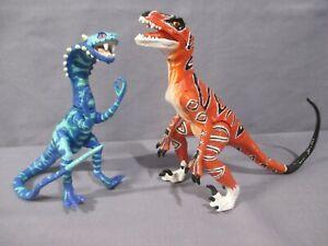 Capable Sega Genesis Primal Rage Talon & Vertigo Action Figure Lot Playmates 1996-afficher Le Titre D'origine Remise En Ligne