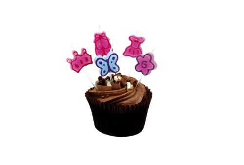 Beautiful Pink Ballet Tutu Party Birthday Candles Set CS-03 By Katz Dancewear