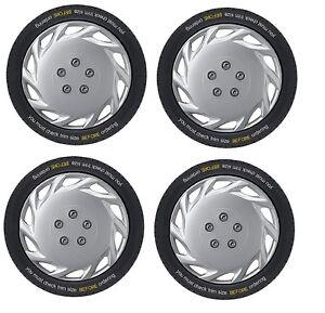 Vauxhall Combo 16 inch Vegas Silver Wheel Trims (2001-2011)