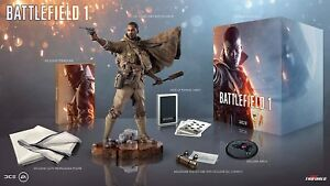 "Battlefield 1 Collectors Limited Edition Light Up 14"" Narrator Statue Figure"