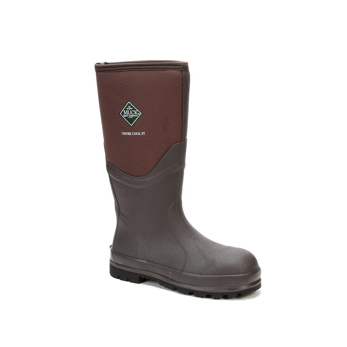 Muck botas Company Adulto Hombre Mujer Mujer Mujer tarea Cool Seguridad Puntera De Acero, marrón  venta al por mayor barato