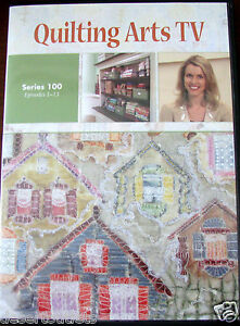 Details About Quilting Arts Tv Series 100 With Patricia Pokey Bolton Dvd
