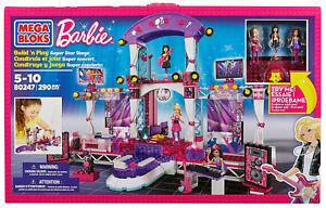 2019 DernièRe Conception Barbie Megabloks Construire & Style Super Star Stage 80247-afficher Le Titre D'origine Vif Et Grand Dans Le Style