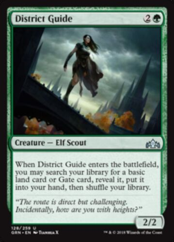 Guilds of Ravnica Uncommon 4x District Guide PLAYSET