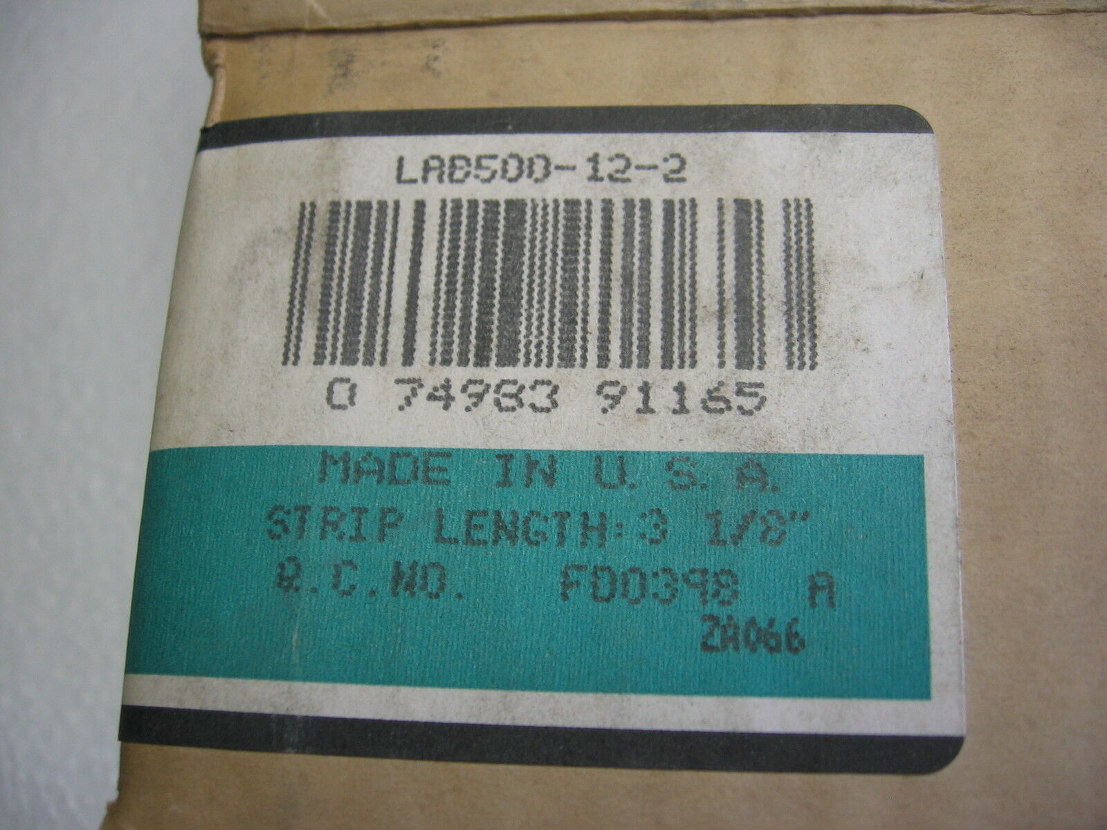 300 NEW NOS Panduit LAB500 Aluminum Lug 2 Hole 500 kcmil Pink Die P99