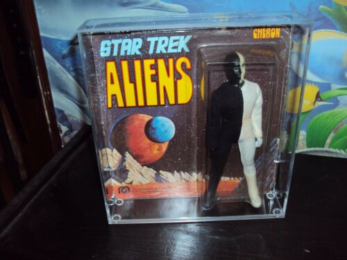 MEGO STAR TREK ALIENS 1st SERIES FIG THIS SALE IS FOR ACRYLIC CASES ONLY NO TOYS