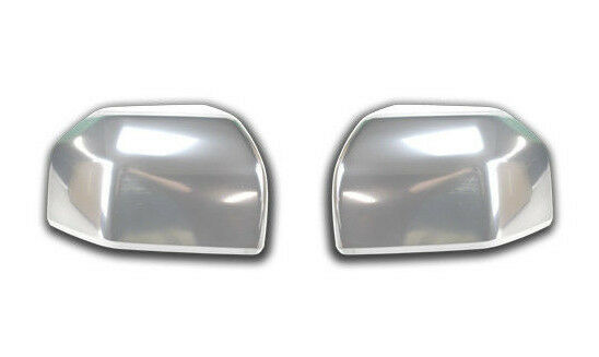 OEM NEW 2015-2016 Ford F-150 CHROME Standard Mirror Cover Caps PAIR - Both Sides
