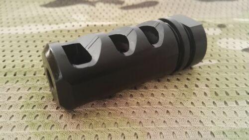 223//556 Muzzle Brake Steel 1//2x28 TPI w//Crush Washer M472