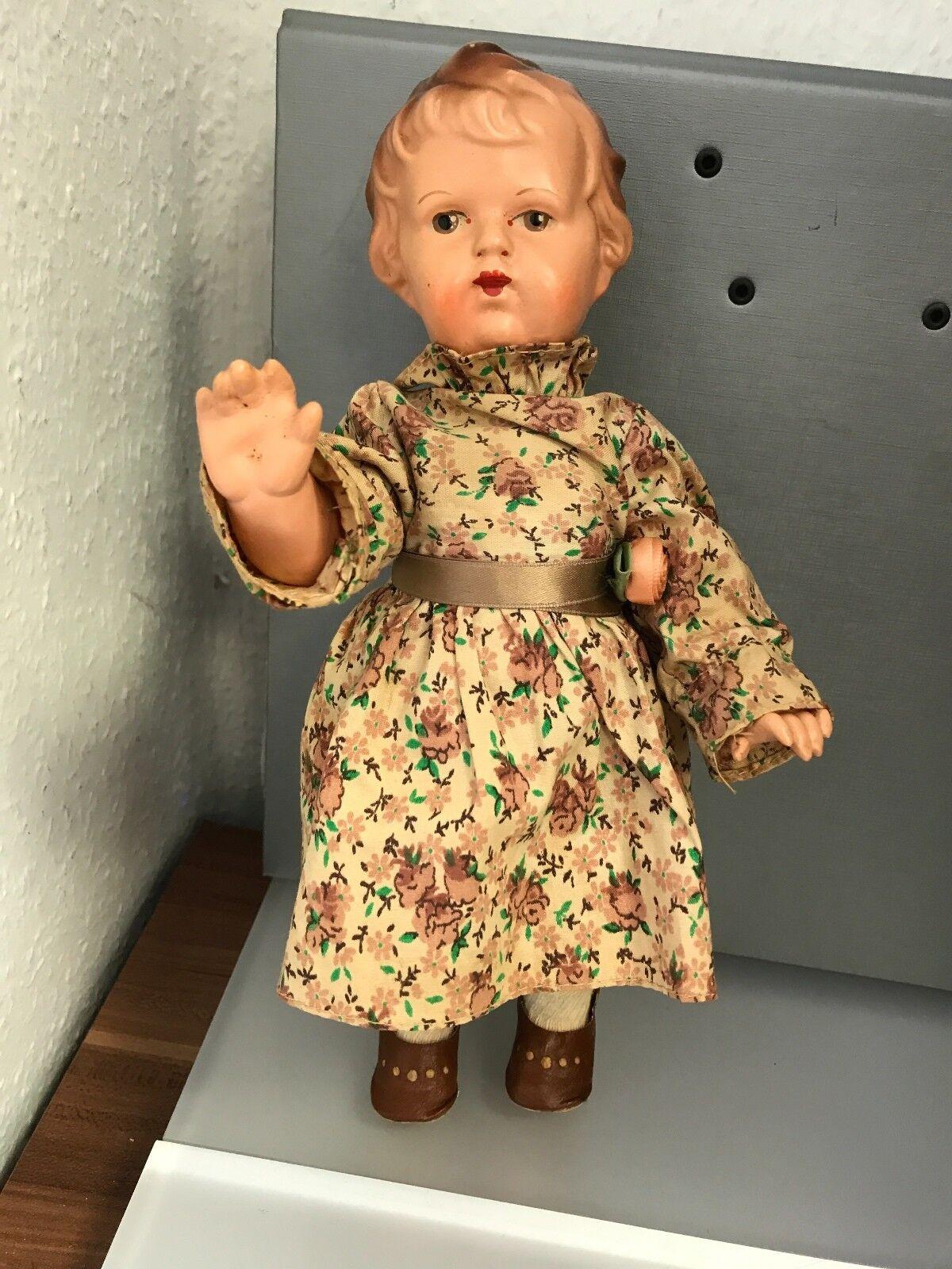 Antico Bambola 29 Cm. Buone Condizioni Vedi Foto