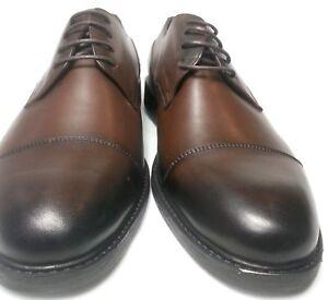 Brillant Bruno Rossi Hommes Véritable Cuir Business Mariage Chaussures Basses Cuir A Lacets Chaussures-afficher Le Titre D'origine