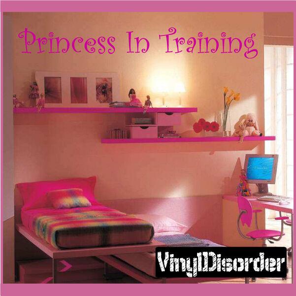 Cotización de Parojo Mural Princesa en capacitación Calcomanía-girlsbedroom 08