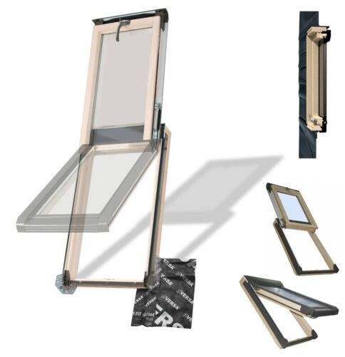 Dachfenster Dachaussteig Ausstiegsfenster OKPOL INS+E2 für Nutzräume Uw=1,4 Holz