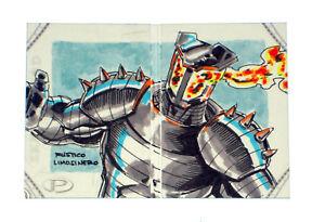 2014-Marvel-Premier-Destroyer-Sketch-Card-Rustico-Limosinero-Upper-Deck-Hinge-UD