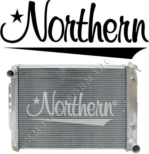 Northern 205141 Custom Aluminum Radiator for 67-69 Chevy Camaro LS Engine Swap