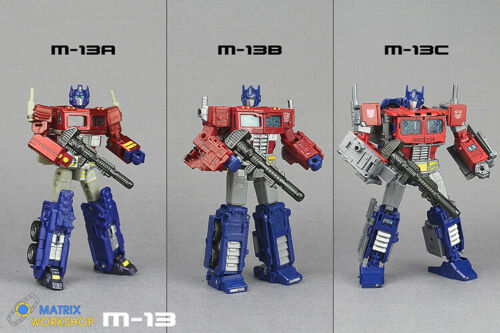 Transformation Matrix Workshop M-13 Weapon Kit For Optimus Prime