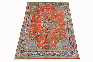 10X13-Persian-Mahal-Sarouq-Antique-Hand-Knotted-Oriental-Wool-Rug-9-8-x-13-9