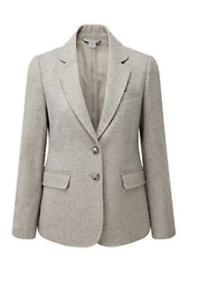 Nn Beige Blazer Size Dh181 18 £58 Uk Traders Cotton 16 Rrp ERqnzAzaw